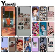 Yinuoda KPOP K.A.R.D MONSTA X NCT 127 Cover Black Soft Shell Phone Case for Huawei Y6 7 2019 MATE 10 LITE PRO 9 20 X Pro 20 lite(China)