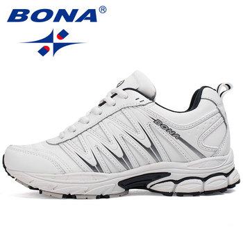 BONA Men Running Shoes for Women Outdoor Walking Sneakers Comfortable Athletic Shoes Trianers Nice Trends Athletic Trainers