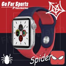 Iwo smart watch Series 4 połączenie poprzez bluetooth tętna 44mm smartwatch Tracker Spiderman zespół dla ios android pk T600 iwo 12 T500 X6 tanie tanio Midnite Star Brak Na nadgarstku Wszystko kompatybilny 128 MB Passometer Uśpienia tracker Wiadomość przypomnienie
