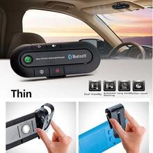 Bluetooth 4.0 Receiver Handsfree Car Kit Sun Visor Clip Audio Adapter Wireless S