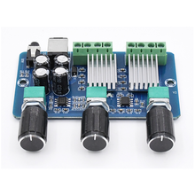 DC 12V 20W + 10W + 10W Yamaha 2.1 canali Stereo Audio amplificatore di potenza Digitale di bordo bass subwoofer AMP XH A355 aplificador audio