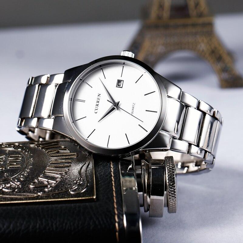 CURREN 8106  Luxury Brand  Analog Sports Wristwatch  Display Date Men's Quartz Watch Business Watch Men Watch Relogio Masculino