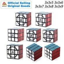 Rompecabezas de cubos mágicos WitEden Super 3x3x5 3x3x6 3x3x7 3x3x8 3x3x9, rompecabezas de velocidad, juguetes educativos desafiantes para niños