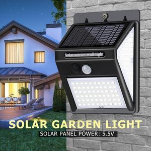 140 LED Solar Light Outdoor Wa