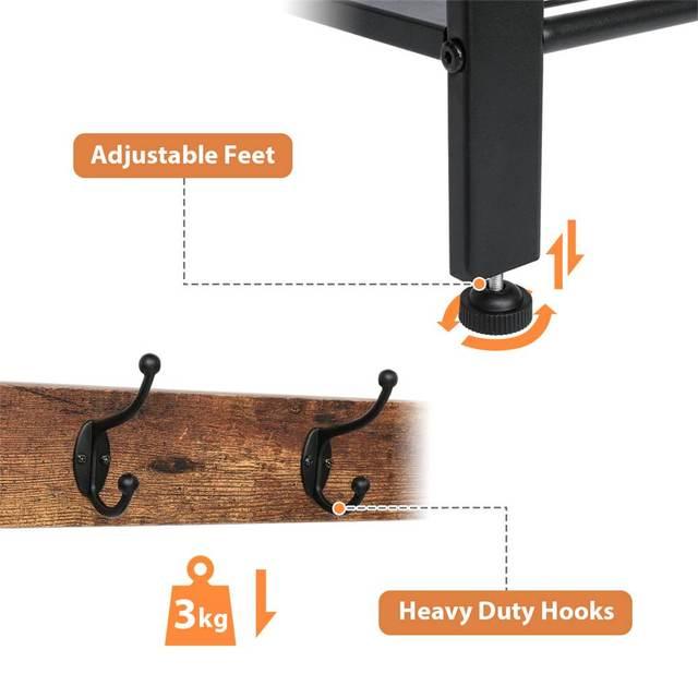 3-Tier Floor Standing Shelf  5