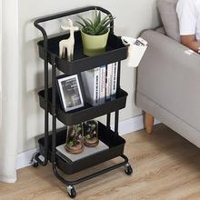 3 Layers Multifunction Beauty Salon Trolley Salon Use Pedestal Rolling Cart Wheel Aluminum Stand Personal Care Appliance Parts
