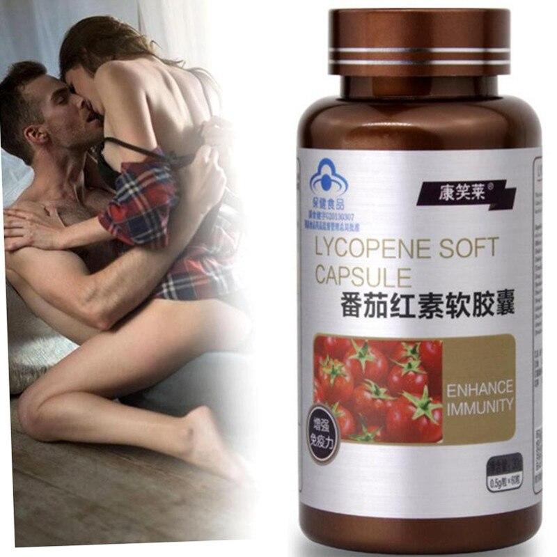 60 таблетки порошок ликопина для лечения простатита капсулы для увеличения Функция и усиления эрекции улучшить спермы жизненную силу и силь...