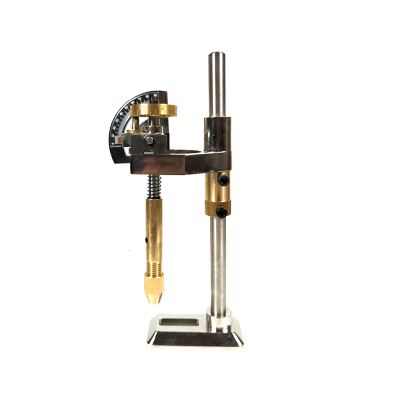 Gemstone Angle Flat Polishing Copper Manipulator Grinding Machine Height Adjustment Jade Lapidary Faceting Machine With Scale