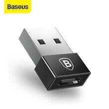 Baseus USB mâle à Type C câble femelle OTG adaptateur convertisseur ordinateur portable type-c femelle à USB mâle chargeur prise données OTG adaptateur