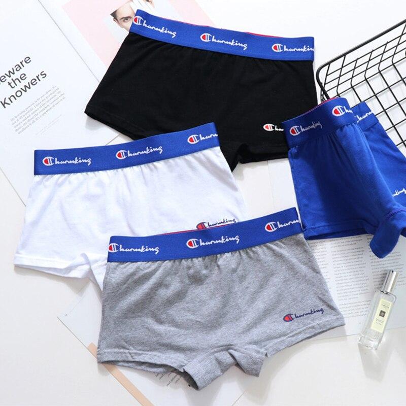 Slip en coton extensible pour femme, sous-vêtement neutre pour le sport, style simpliste