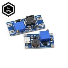 1 шт., Повышающий Модуль MT3608 DC-DC, 2 а, с MICRO USB, 2 в-24 в до 5 В, 9 В, 12 В, 28 в