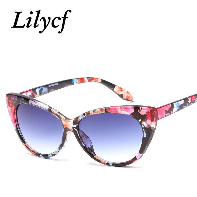 2019 New Personality Fashion Sunglasses Trend Cat Eyes Female Models Round Glasses Women's Brand Designer Sunglasses UV400