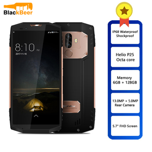 Image 2 - BLACKVIEW BV9000 PRO Mobile Phone IP68 Waterproof Tough Durable Smartphone 18:9 Android 7.1 Mobile Phone 6G+128G NFC CellPhone