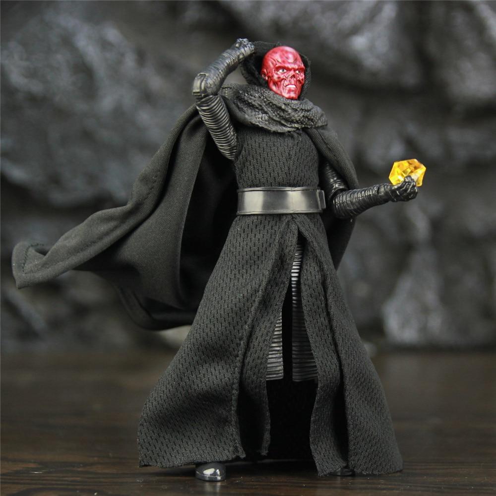 """Marvel Avenger Endgame Movie Red Skull 6"""" Action Figure A Guide Of Soul Stone Johann Shmidt Legends Custom Toys Doll"""