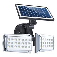 42 светодиодный наружный настенный светильник, водонепроницаемый инфракрасный PIR датчик движения, Солнечная лампа