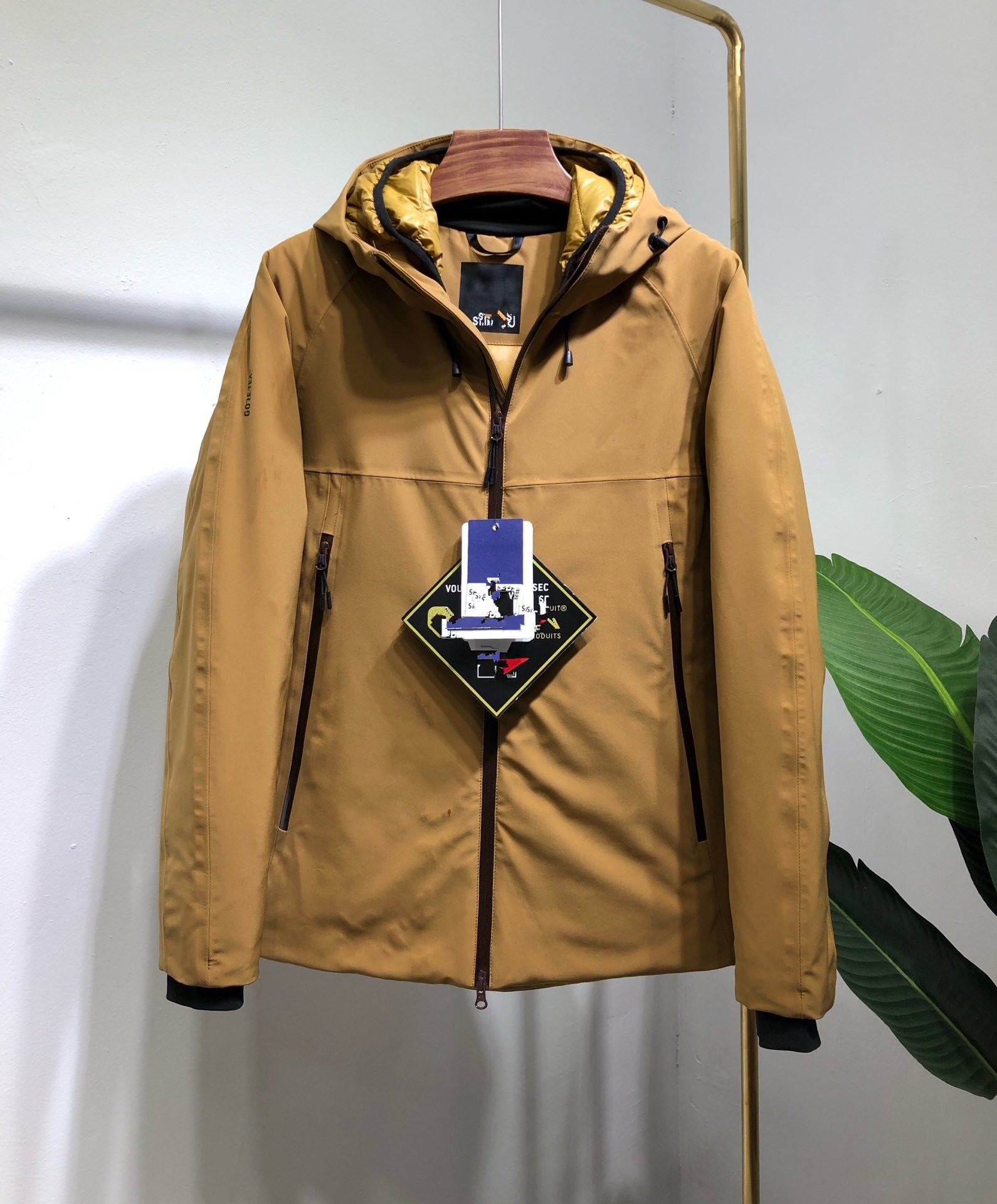 Winter New Style TNF MEN'S Shorts Casual Down Jacket Men Business Casual Warm Down Jacket