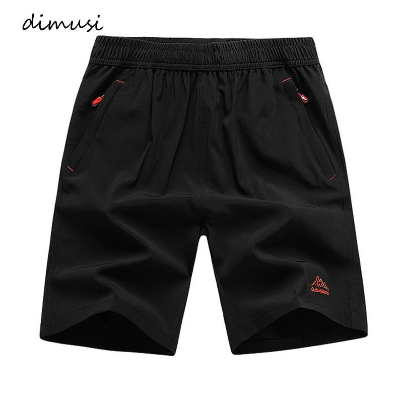 DIMUSI Summer Men's Shorts Casual Man Elastic Waist Beach Shorts Male Fashion Outdoor Breathable Cargo Shorts homme Clothing 9XL
