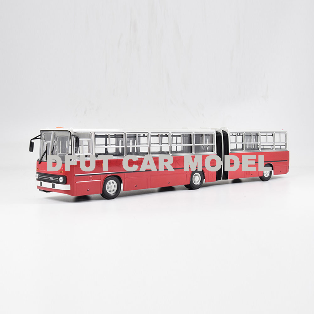 1:43 Scale Alloy Toy Russia 280 BUS Model Of Children's Toy Car Original Authorized Authentic Kids Toys
