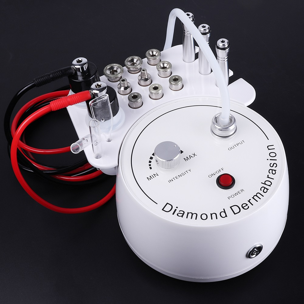 3 In1 Diamond Microdermabrasion Peel Machine Water Spray Exfoliation Dermabrasion Machine Removal Wrinkle Facial Peeling For SPA