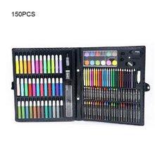 Colored-Pencils Oil-Pastels Stationery Drawing-Set Artist Feutres-De-Coloriage Kids