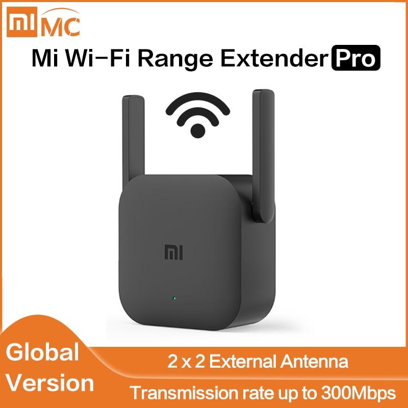 Global Version Xiaomi Mi Wi-Fi Range Extender Pro Xiaomi Wifi Pro Amplifier Router 300M 2.4G Repeater Network Mi Wireless Router(China)