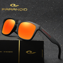 PARANOID Mens Sunglasses Polarized Retro Sun Glasse For Men