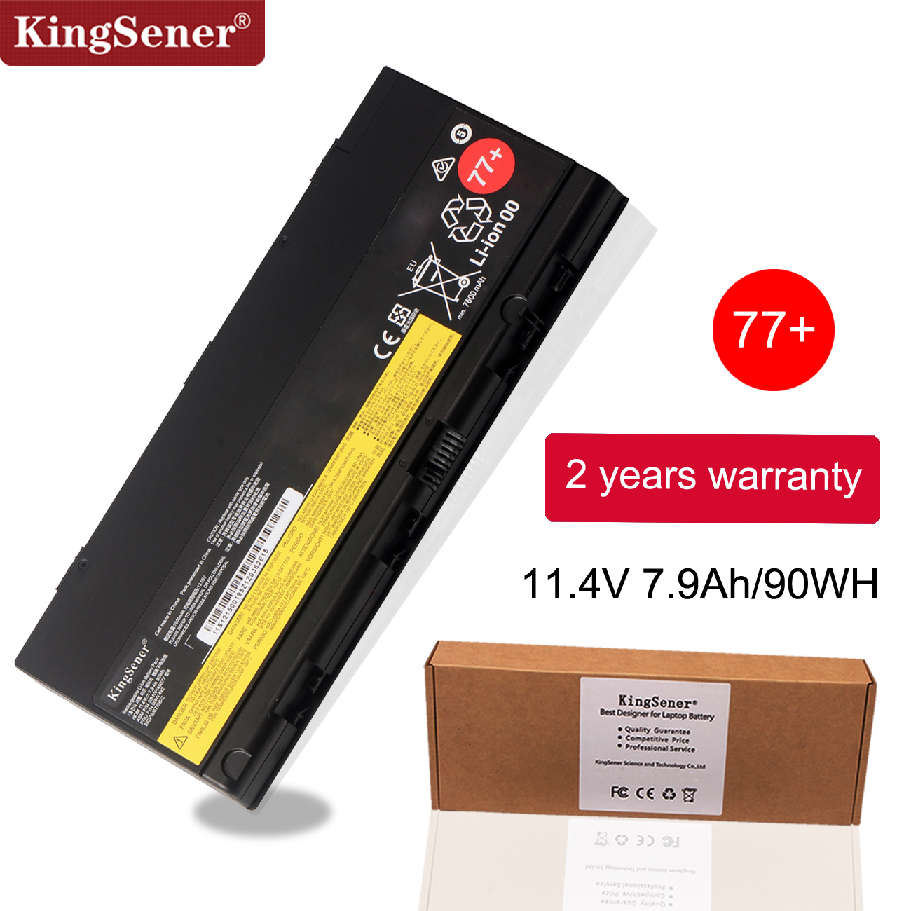 KingSener New Laptop Battery For LENOVO Thinkpad P50 P51 P52 00NY490 00NY491 00NY492 SB10H45075 SB10H45076 SB10H45077 SB10H45078