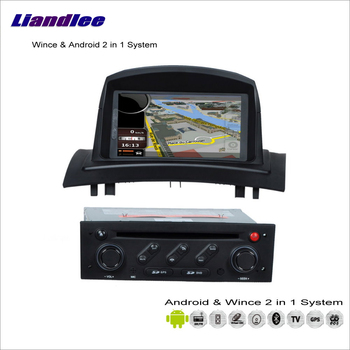 Liandlee Car Android Multimedia Stereo For Renault Megane II 2008~2010 Radio BT CD DVD Player GPS Nav Map Navigation Audio Video image