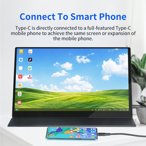 Image 5 - 15.6 4K USB 3.1 Type C touch screen portable monitor for Ps4 Switch Xbox Huawei Xiaomi phone gaming monitor Laptop LCD display