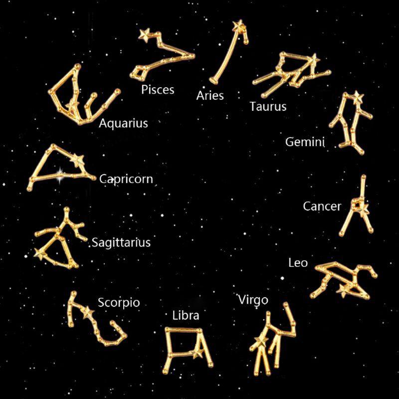 Sagittarius Constellation Resin Tag