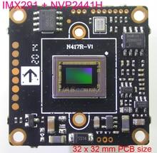 "32x32mm AHD H (1080P) 1/2.8"" Sony Exmor STARVIS CMOS IMX291 + NVP2441 CCTV camera module PCB board (UTC)"