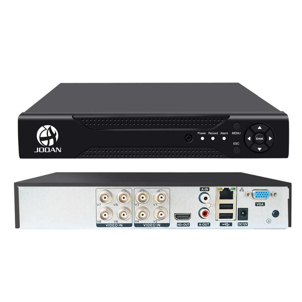 CCTV 8CH DVR H.264 AHD DVR NVR 8ch HDMI cyfrowy rejestrator wideo dla kamer CCTV wyjście wideo HDMI obsługa analogowej kamery AHD IP