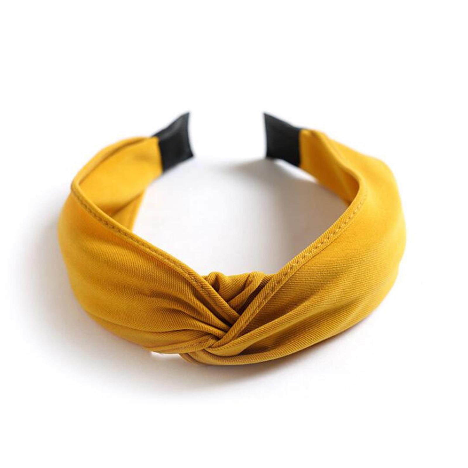 yellow hairband