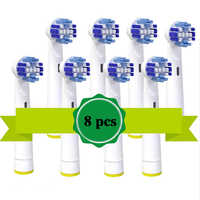 8 stücke oder 16 stücke Für Braun Oral B Vitalität Ersatz Elektrische Zahnbürste Köpfe, Präzision Sauber, floss Action, Cross Aktion