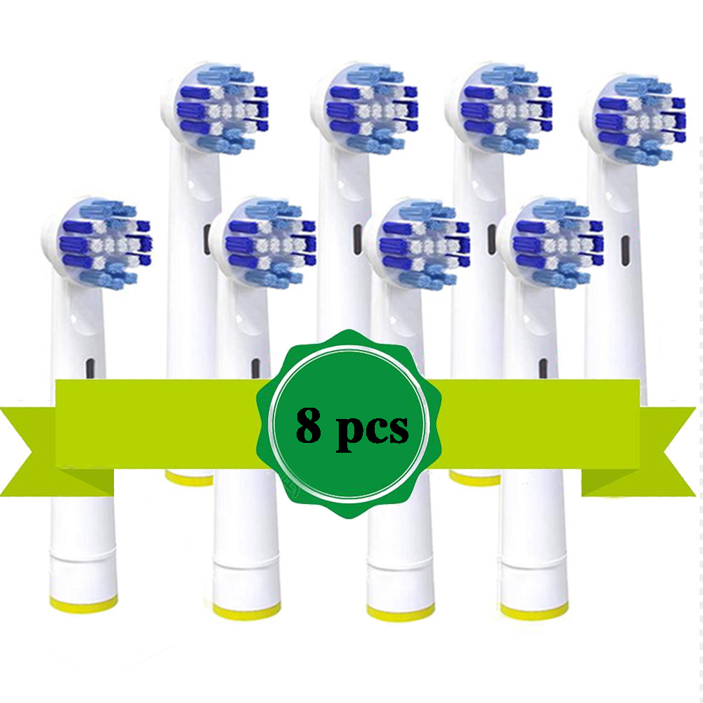 8PCS or 16 pcs For Braun Oral B Vitality Replacement Electric Toothbrush Heads,Precision Clean,Floss Action,Cross Action