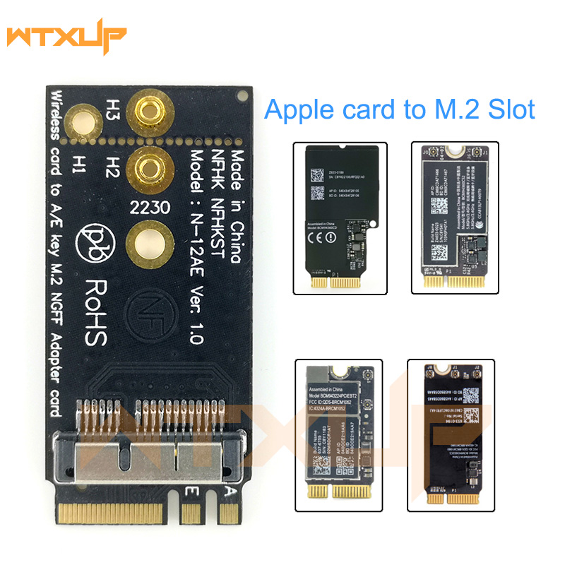 Wireless-Card Key-A/E-Adapter BCM94331 M.2 To NGFF for Os/hackintosh title=