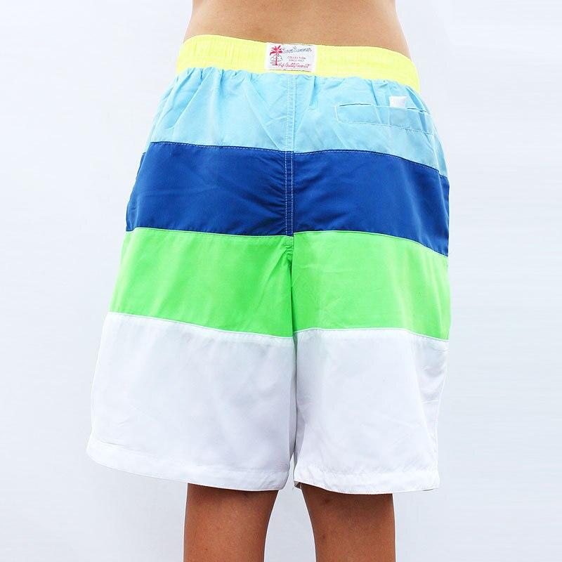 imprimir cintura alta solta shorts beach wear maiô