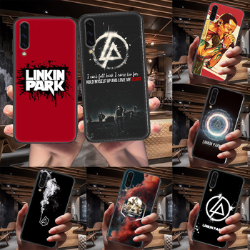Band Linkin Rock and parks Phone Case For Samsung Galaxy A 3 5 7 8 10 20 20E 21S 30 30S 40 50 51 70 71 black Hoesjes 3D Cell Tpu image