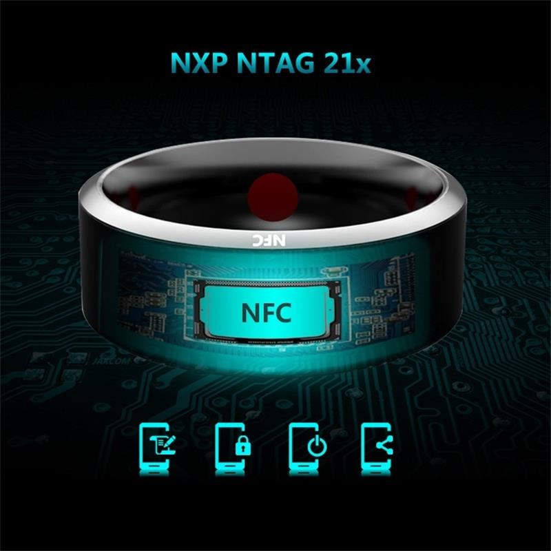 Original JAKCOM Smart ring R3 R3F women NFC smarty metal finger ring men the Ring for IOS Apple iPhone xiaomi zte huawei oppo image