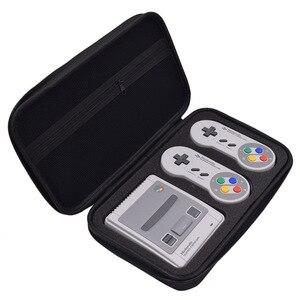 Image 3 - حقيبة التخزين لنينتندو SNES الكلاسيكية البسيطة قشرة صلبة واقية لعبة حالة ل Nintend التبديل SNES السفر في الهواء الطلق صندوق حمل