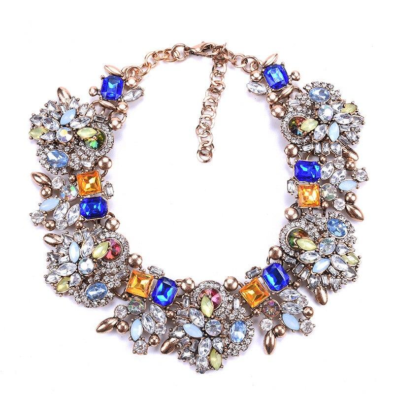 Ogrlice s velikim ogrlicama Žene ogrlice s velikim čizmama, - Modni nakit - Foto 6