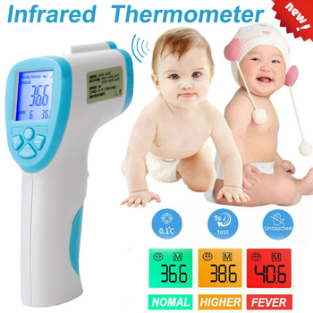 LCD Digital Non-contact Infrared Thermometer Forehead Body Temperature Meter Tool New WXV Sale