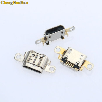 ChengHaoRan 1pcs Micro usb jack mini 5pin Charging Socket Port Connector for Amazon Kindle Fire 7th Gen SR043KL image