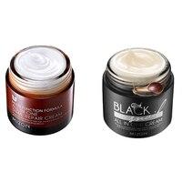 MIZON All In One Snail Repair Cream Korean MIZON Black Snail Face Cream Acne Treatment Moisturizing Whitening Anti Wrinkles