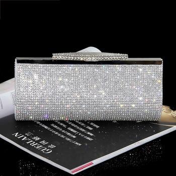 Luxury Diamond Embellished Rhinestone  Mini Handbag  3