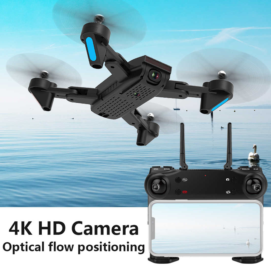2019 SG700-S 4K Camera Drone Wifi Fpv Dual Camera Groothoek Palm Controle Optische Flow Gebaar Foto Video Selfie rc Quadcopter