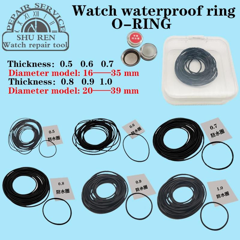 Watch Gasket,Thickness 0.5/0.6/0.7/0.8/0.9/1.0mm, Watch Waterproof Ring, O-RING, Watch O-ring,o-ring Gasket,Waterproof Gasket