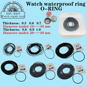 Watch gasket,Thickness 0.5/0.6/0.7/0.8/0.9/1.0mm, watch waterproof ring, O-RING, watch o-ring,o-ring gasket,Waterproof gasket