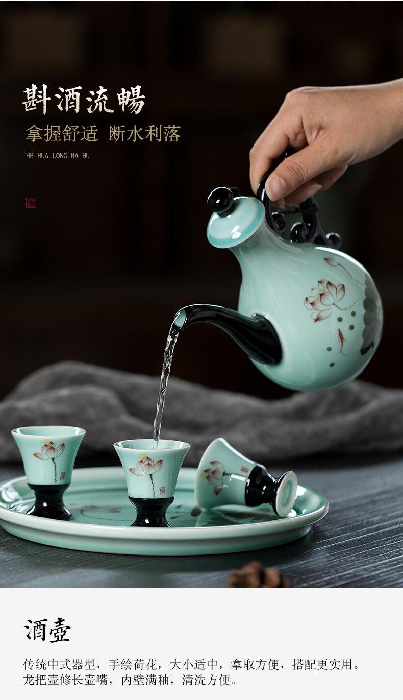 do abanador do cocktail da cerâmica