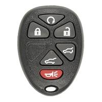 Substituição keyless da chave do carro de controle remoto da entrada para chevrolet buick que usam o botão 6 para a auto programação de ouc60270|Sistema de arranque sem chave| |  -